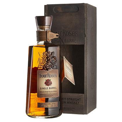 Віскі Bourbon Four Roses Single Barrel 0.7L 50% в дерев'яній коробці