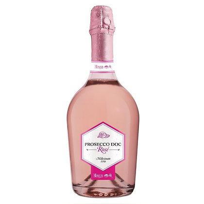 Вино ігристе Villa Miazzi Prosecco Rose Extra Dry рожеве екстрасухе