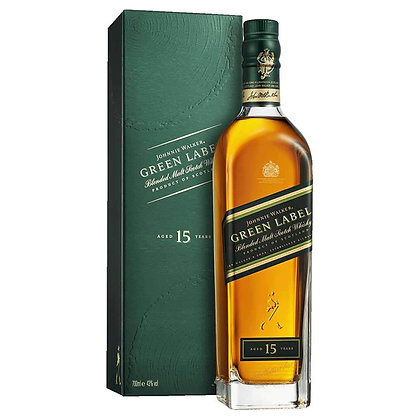Віскі Johnnie Walker Green Label 15 Years 0.7L 43% в коробці