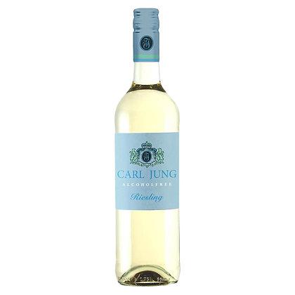 Вино безалкогольне Carl Jung Riesling біле напівсухе