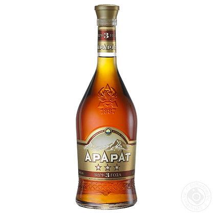 Бренді ARARAT 3* 0.7L 40%