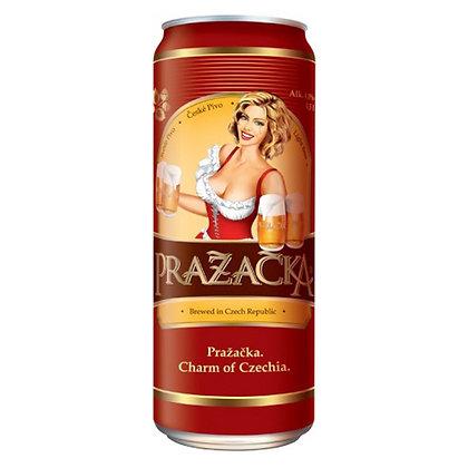 Пиво Prazacka Svetle світле фільтроване 0.5L 4%