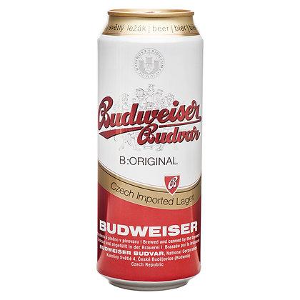 Пиво Budweiser Budvar світле фільтроване 0.5L 5%