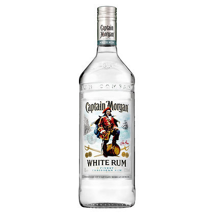 Ром Captain Morgan White Rum 0.7L 37.5%