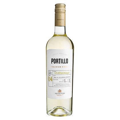 Вино Portillo Chardonnay біле сухе