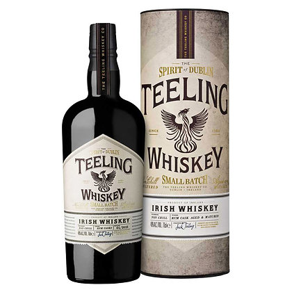 Віскі Teeling Whiskey Small Batch 0.7L 46% в тубусі
