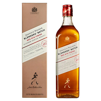 Віскі Johnnie Walker Red Rye Finish 0.7L 40% в коробці