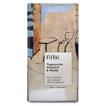 Шоколад молочний органічний з капучіно Vivani 100г