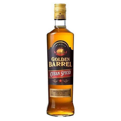 Ром Golden Barrel Cuban Spiced 0.7L 35%