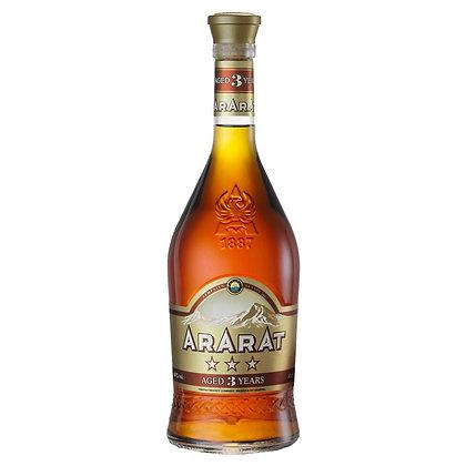 Бренді ARARAT 3* 0.5L 40%