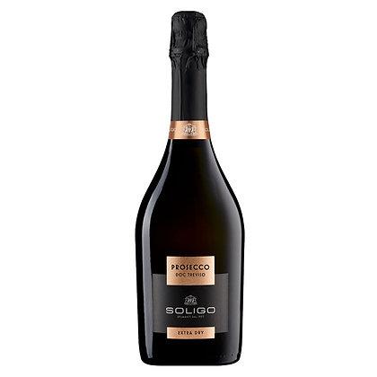 Вино ігристе Soligo Prosecco Treviso Extra Dry біле екстра сухе