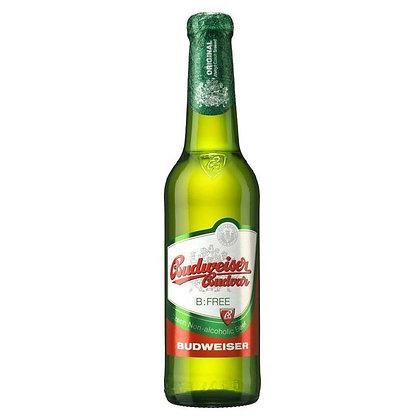 Пиво Budweiser Budvar Free світле фільтроване 0.33L 0%