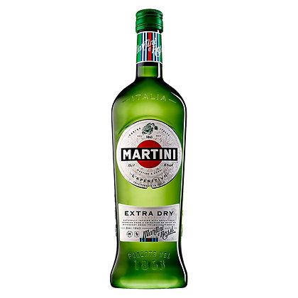 Вермут Martini Extra Dry сухий білий 1L 18%