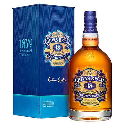 Віскі Chivas Regal 18 Years 1L 40% в коробці