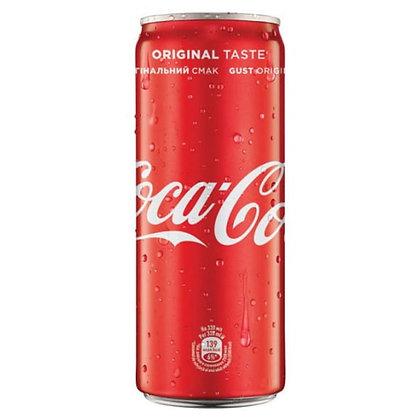 Напій солодкий газований Coca-Cola 0.33L