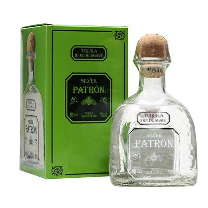 Текіла Patrón Silver 0.75L 40% в коробці