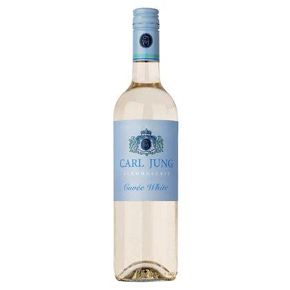 Вино безалкогольне Carl Jung Cuvée White біле напівсухе