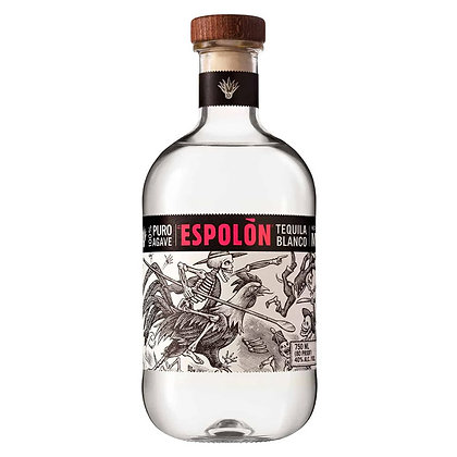 Текіла Tequila 100% Blue Agave Espolon Blanco 1.0L 40%