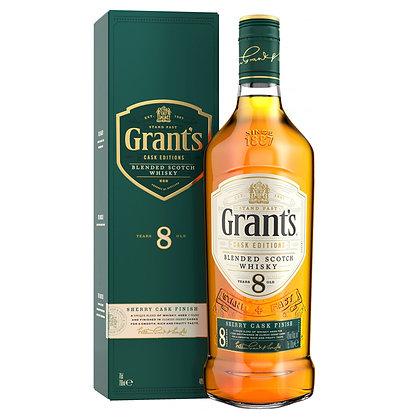 Віскі Grant's Sherry Cask Finish 8 Years Old 0.7L 40% в коробці