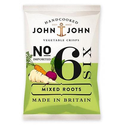 Чіпси овочеві John & John №6 мікс 40г