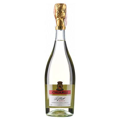 Вино напівігристе Chiarli Lambrusco dell 'Emilia Dry біле сухе