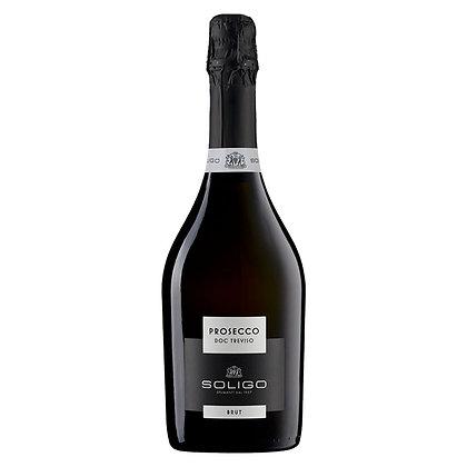 Вино ігристе Soligo Prosecco Treviso Brut біле брют