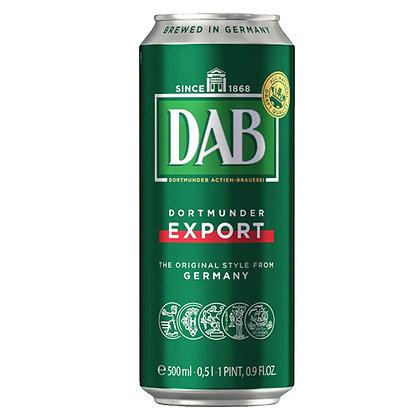 Пиво DAB Dortmunder Export світле фільтроване 0.5L 5%