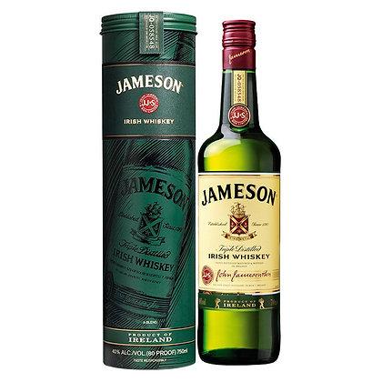 Віскі Jameson Irish Whiskey 0.7L  40% в металевому тубусі