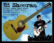 Ed Sheeran signed guitar