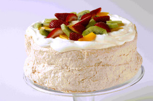 A case of pavlovas from Cowells