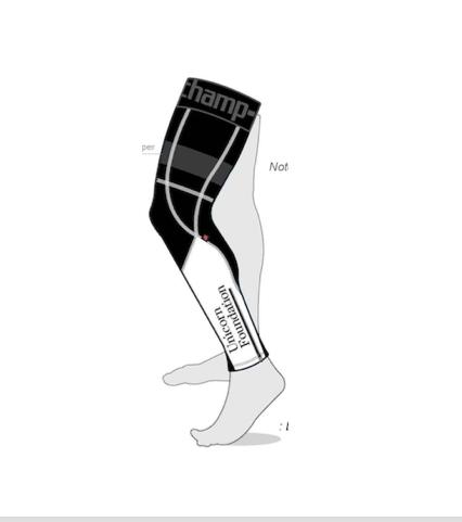Champion System Tech Leg Warmer, Fleece