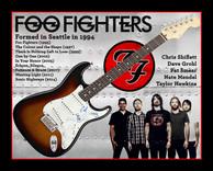 Foo Fighters signed Fender guitar