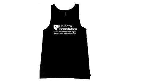 Unicorn Foundation NZ AS Colour Typo Singlet - Mens
