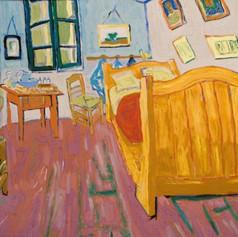 Vinentova ložnice v Arles / Vincent's Bedroom in Arles