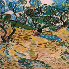 Olivový háj / Olive grove