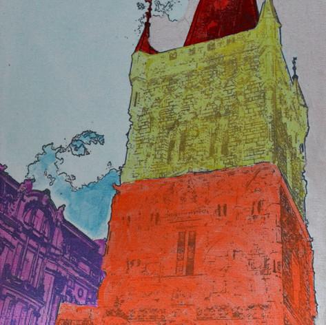 Pražská věž II / Prague tower II