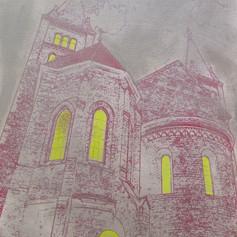 Katedrála v bouři / Cathedral in the storm