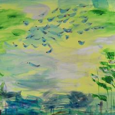 Ptáčci nad krajinou/Birds over the country