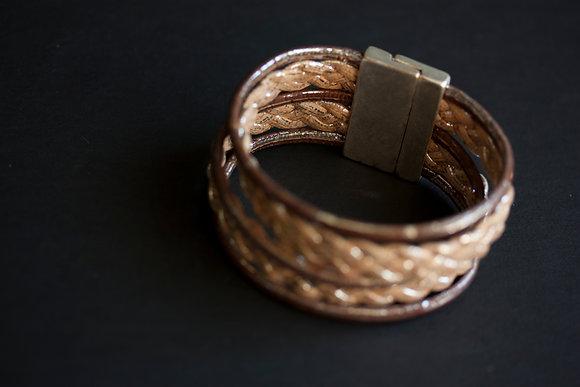 Two Braids Bracelet (ec-2613blt)