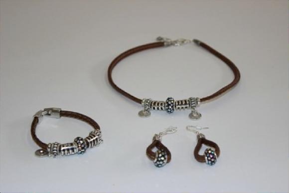 Necklace+Bracelet+Earrings Set (CS-839)