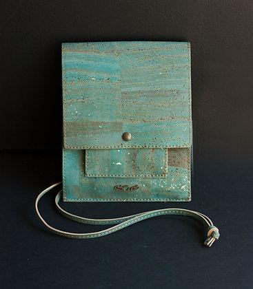 Blue Messenger Bag (ec-0113bl)