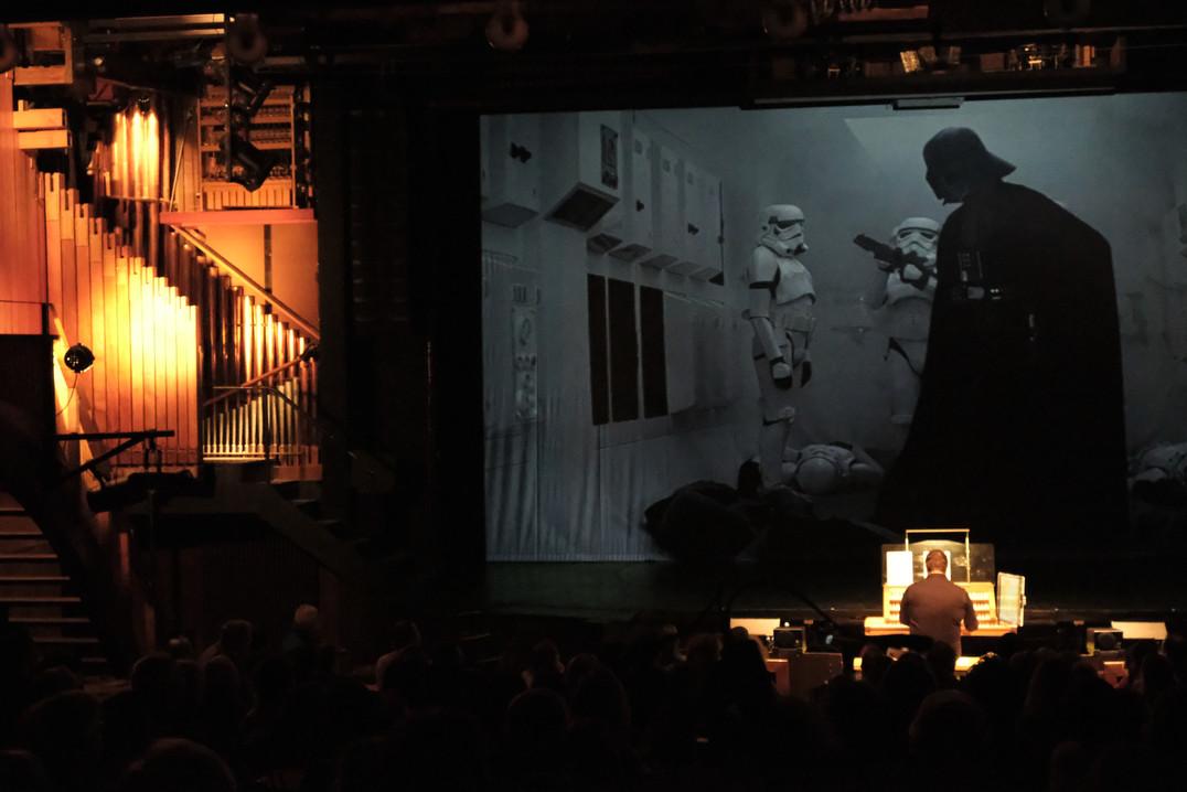 20 ans de l'orgue - Hollywood en concert. Star Wars Valentin Villard aux claviers.