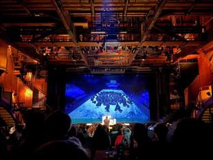 20 ans de l'orgue - Hollywood en concert. Fête des Vignerons 19 Valentin Villard aux claviers.