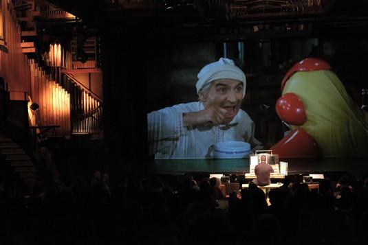 20 ans de l'orgue - Hollywood en concert. La Soupe au Choux Valentin Villard aux claviers.