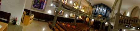 Le temple et ses deux orgues