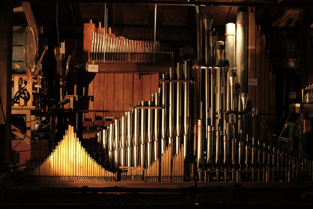 Violon 2', Saxophone, Flûte à cheminée et Cor anglais.