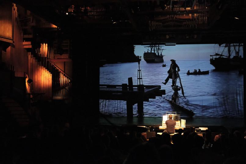 20 ans de l'orgue - Hollywood en concert. Pirate des Caraïbes Valentin Villard aux claviers.