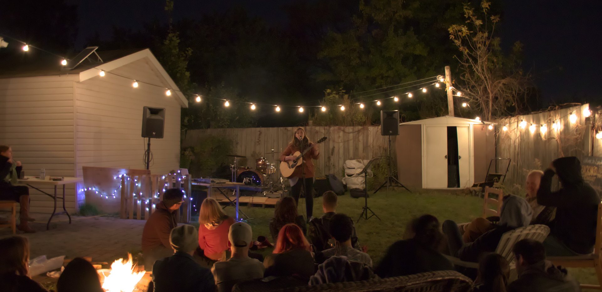 2017 Backyard Bonfire