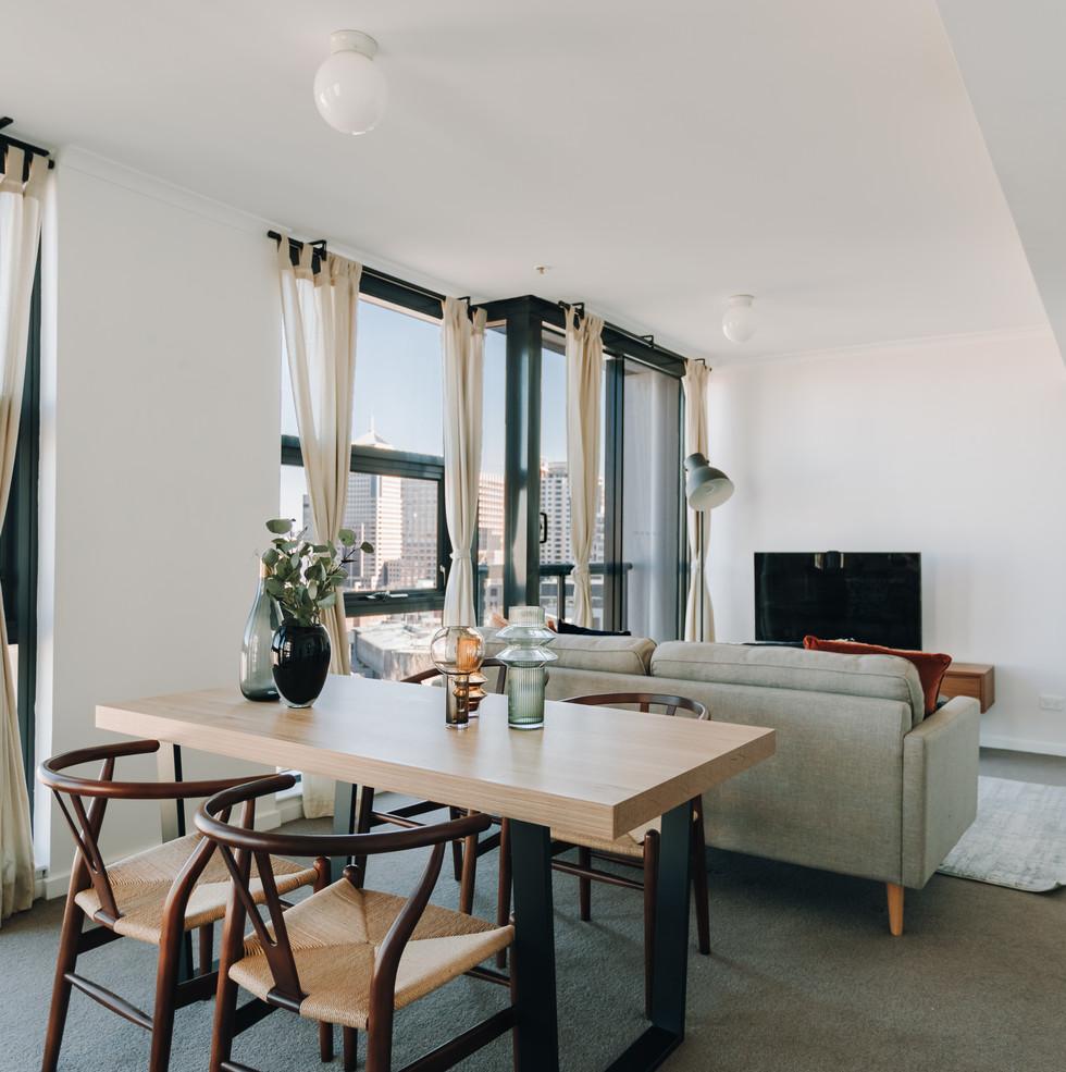 Modern apartment in Sydney CBD