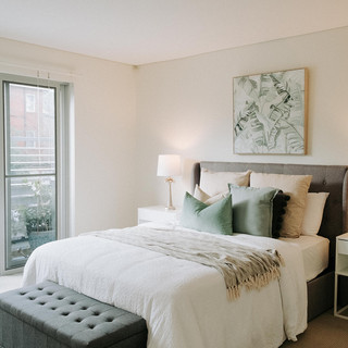 COZY AND SUBTLE BEDROOM